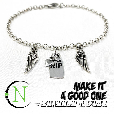 Make It A Good One NTIO Chain Bracelet by Shannon Taylor