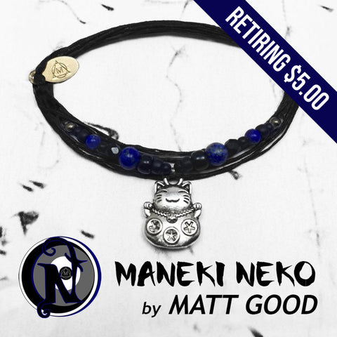 Maneki Neko NTIO Bracelet by Matt Good - RETIRING