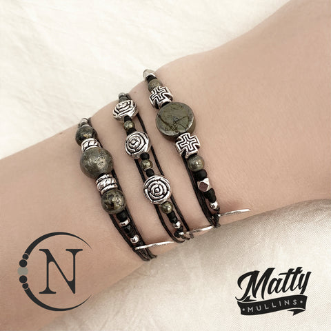 Bundle ~ A Soul That Never Dies  NTIO 3 Piece Bracelet Bundle by Matty Mullins