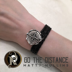 Go the Distance NTIO Wrap Necklace/Bracelet by Matty Mullins ~ Reversable
