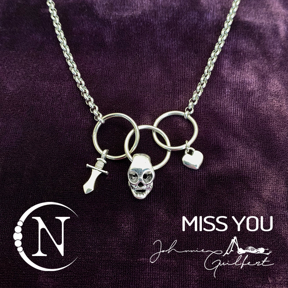Miss You NTIO Necklace by Johnnie Guilbert
