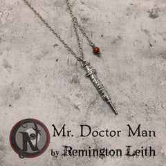 Mr. Doctor Man Necklace/Choker by Remington Leith