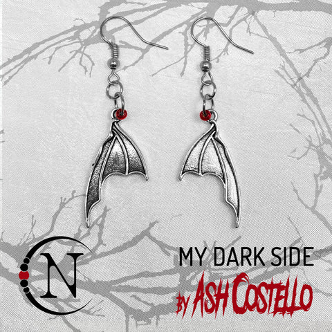 Earrings ~ My Dark Side by Ash Costello