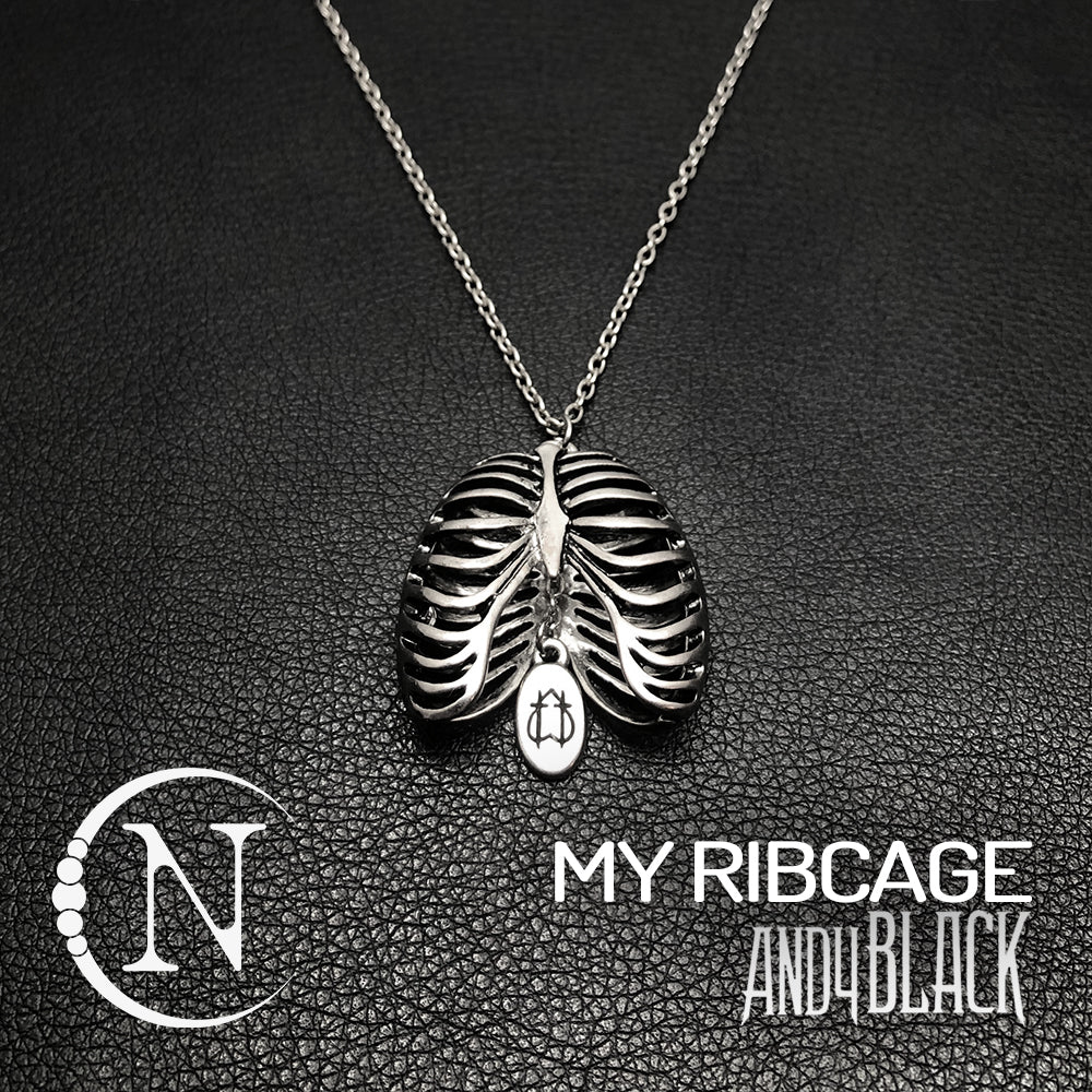 My Ribcage NTIO Necklace by Andy Black