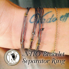 2 Dark Brass NTIO Separator Ring