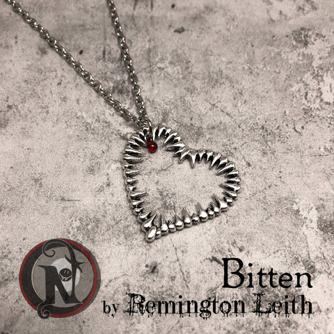 Necklace Bitten by Remington Leith