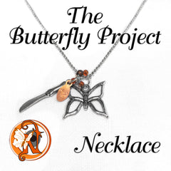 Necklace The Butterfly Project by NTIO Butterfly Project