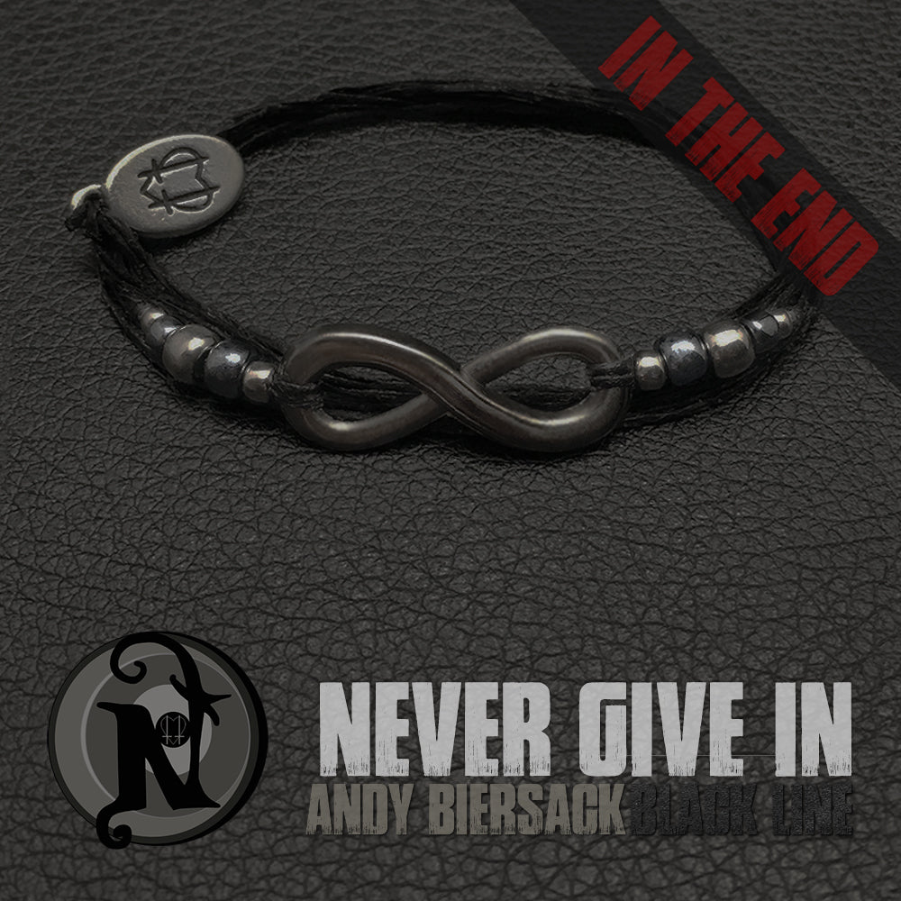 Never Give In NTIO Bracelet by Andy Biersack