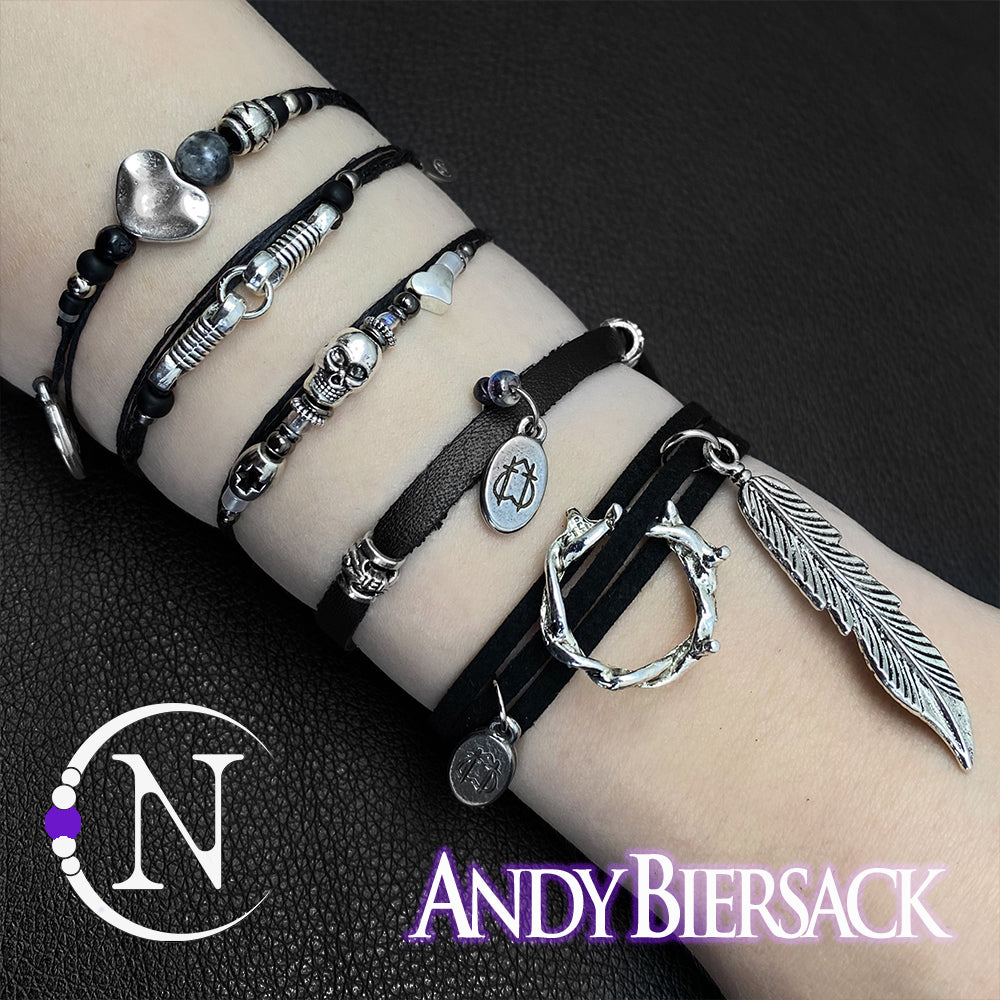 New Era NTIO 5 Bracelet Bundle By Andy Biersack