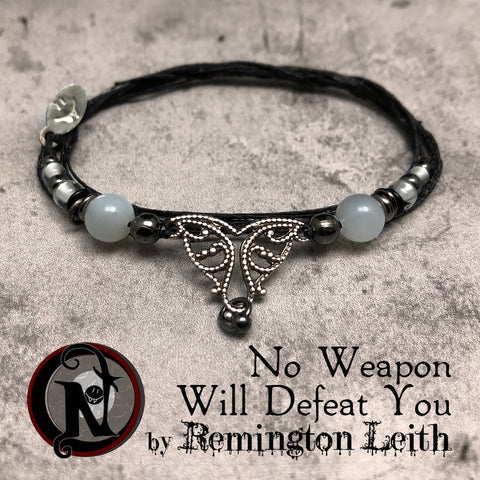 No Weapon Will Defeat You NTIO Bracelet By Remington Leith