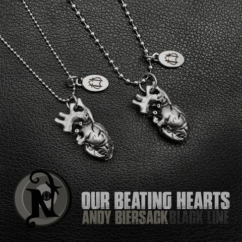 Our Beating Hearts Couples Bundle NTIO Necklace by Andy Biersack