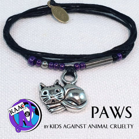Paws NTIO Bracelet by Kids Against Animal Cruelty