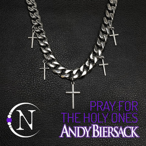 Pray For The Holy Ones NTIO Necklace by Andy Biersack