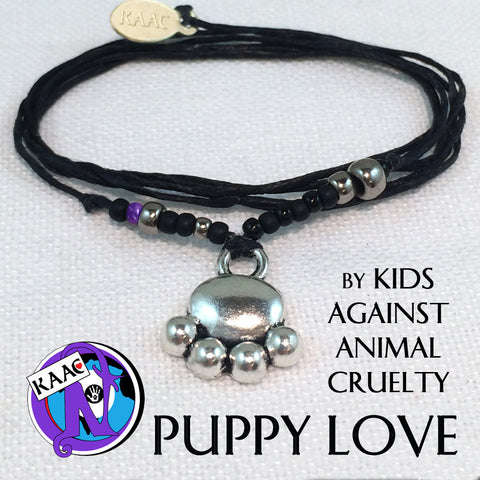 Puppy Love NTIO Bracelet by Kids Against Animal Cruelty
