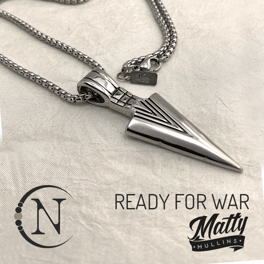 Ready For War NTIO Necklace by Matty Mullins