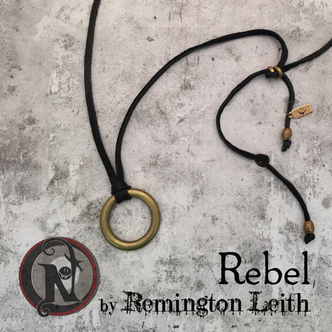 Rebel NTIO Necklace by Remington Leith ~ Alt Press Alumni