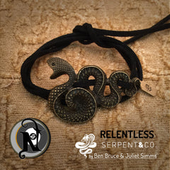 Relentless NTIO Bracelet and Choker by Serpent and Co.