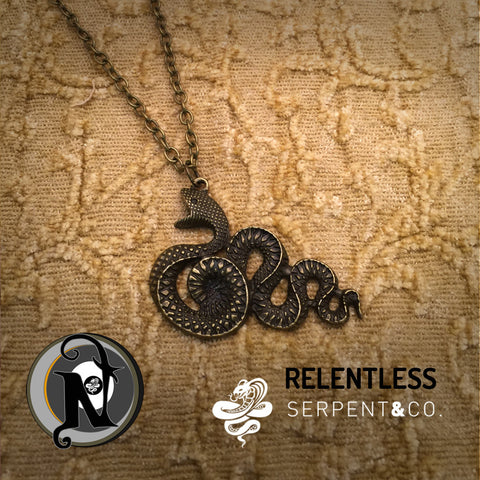 Relentless NTIO Necklace by Serpent and Co.
