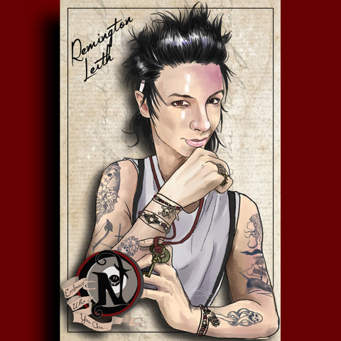 Remington Leith - ARTIST POSTER by XOBillie
