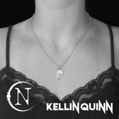 Together We Are Not Alone NTIO Necklace by Kellin Quinn - Right Side