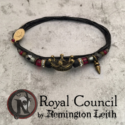 Royal Council NTIO Bracelet by Remington Leith ~ Alt Press Alumni