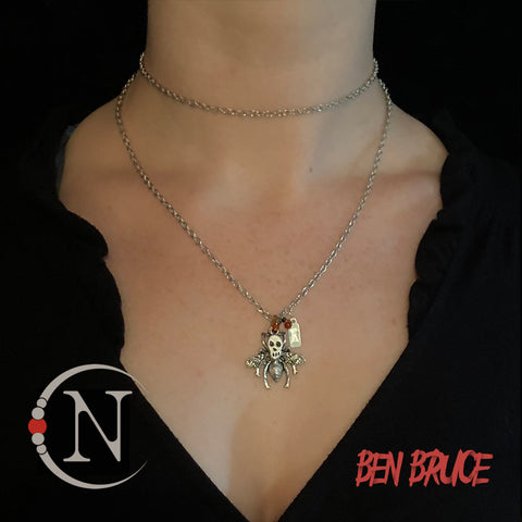 """Silence"" Death's Head Moth Necklace by Ben Bruce ~ Limited Edition 1 More!"