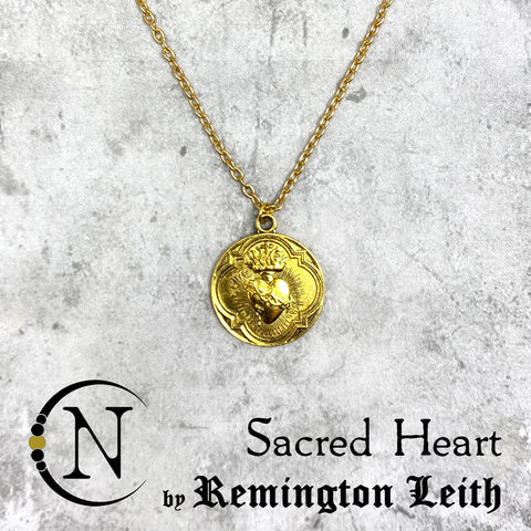 Sacred Heart NTIO Necklace/Choker by Remington Leith