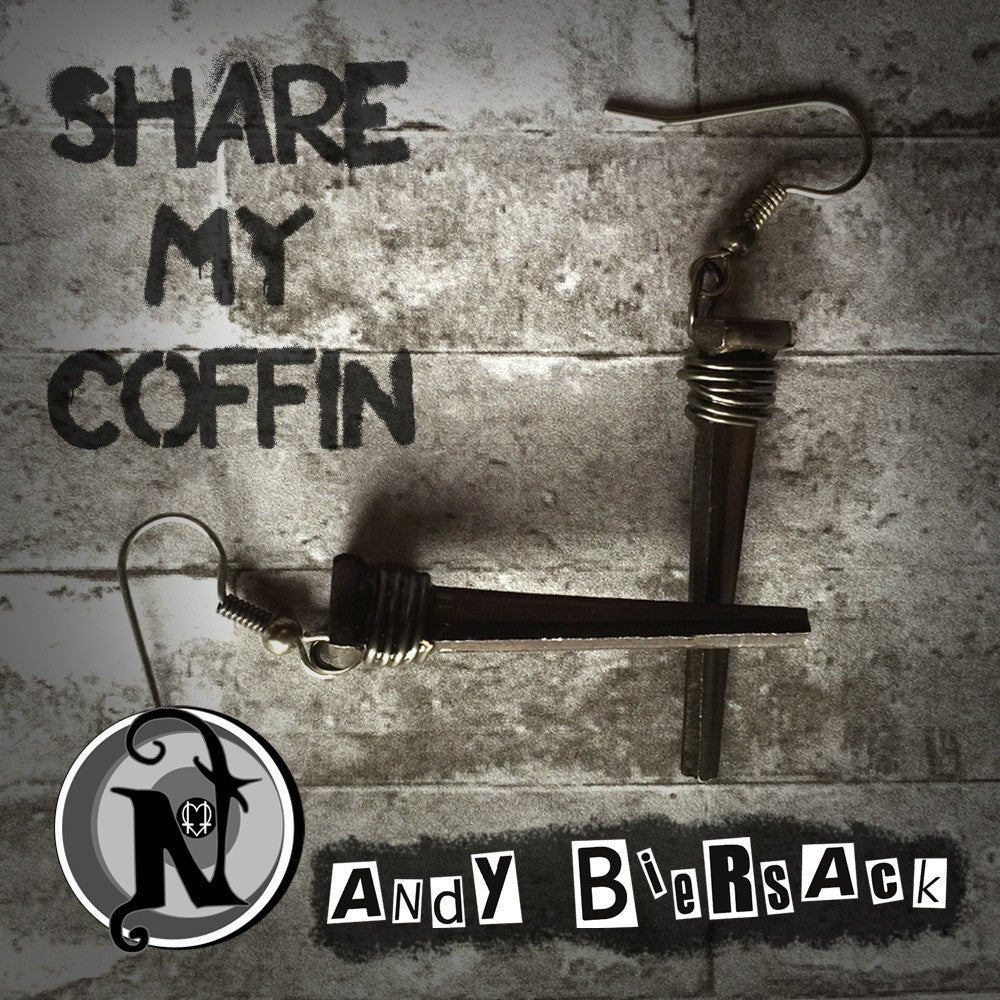 Earrings Share My Coffin by Andy Biersack