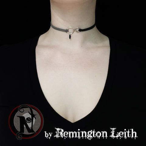 Silver Until Death NTIO Bracelet/Choker/Necklace by Remington Leith