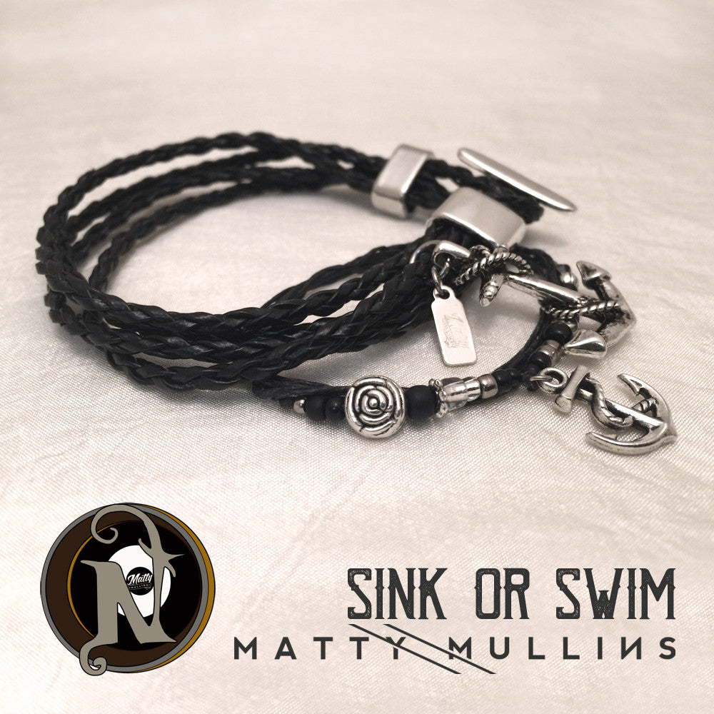 NTIO 2 Bracelet Bundle ~ Sink or Swim by Matty Mullins