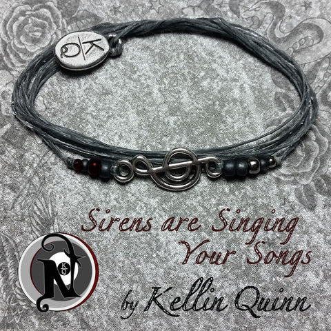 Sirens are Singing Your Songs NTIO Bracelet by Kellin Quinn ~ Alt Press Alumni