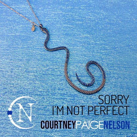 Ear Cuff Choker ~ Sorry I'm Not Perfect by Courtney Paige Nelson
