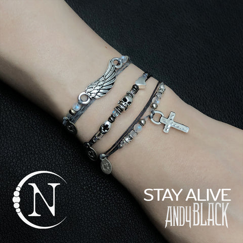 Stay Alive NTIO Bracelet Bundle by Andy Black