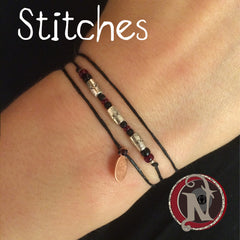Stitches NTIO Bracelet by Andy Biersack