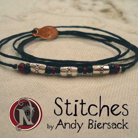 Stitches NTIO Bracelet by Andy Biersack ~ Original Andy Line