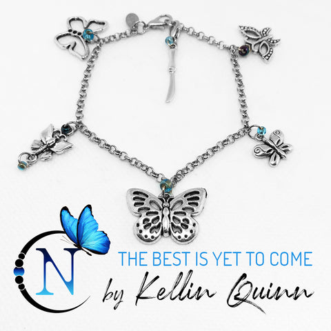 The Best Is Yet To Come NTIO Charm Bracelet By Kellin Quinn Only ~5 More