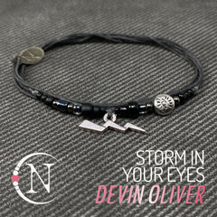 Storm In Your Eyes NTIO Bracelet by Devin Oliver
