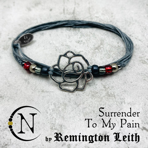 Surrender To My Pain NTIO String Bracelet by Remington Leith