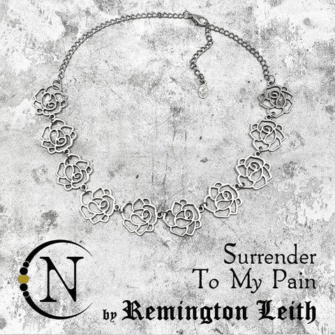 Surrender to My Pain NTIO Choker by Remington Leith