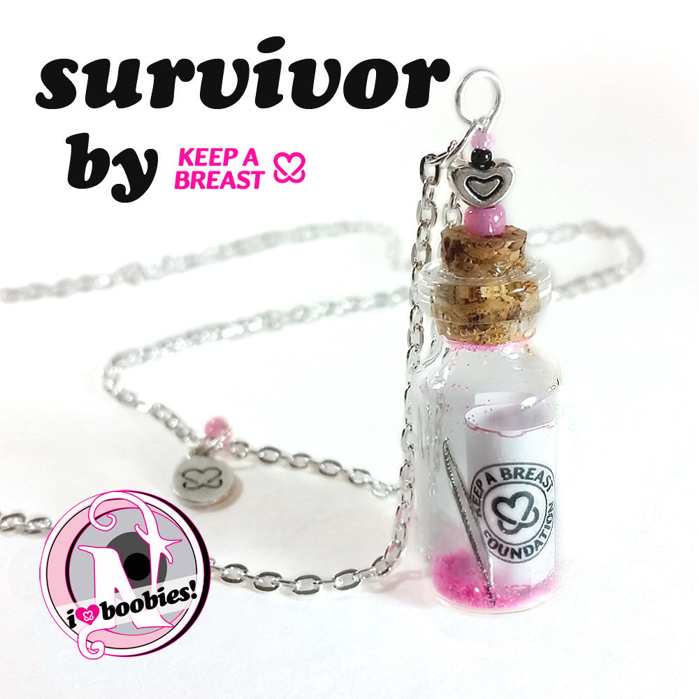Survivor NTIO Necklace by Keep A Breast