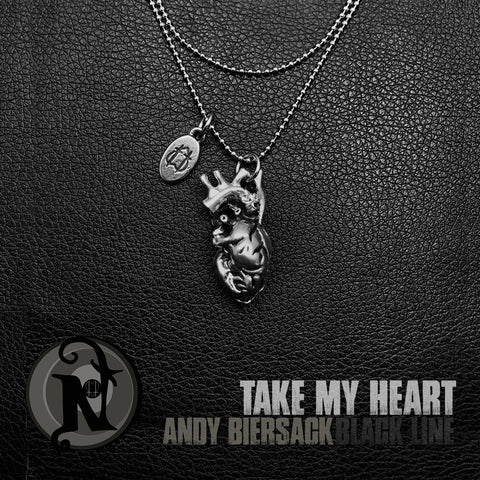 Wrap Around Take My Heart NTIO Necklace by Andy Biersack