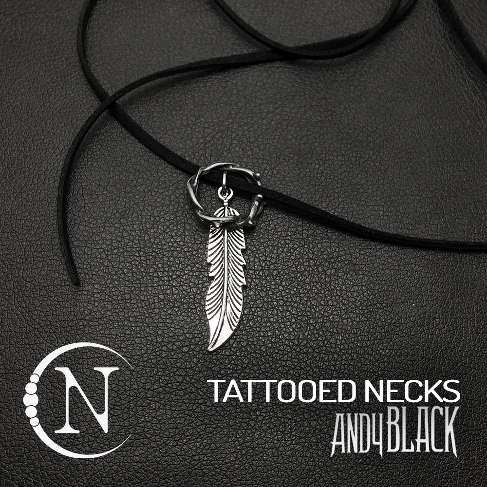 Tattooed Neck NTIO Necklace by Andy Black