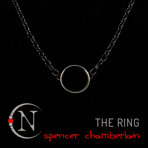 The Ring Halloween Necklace By Spencer Chamberlain ~ Limited 20