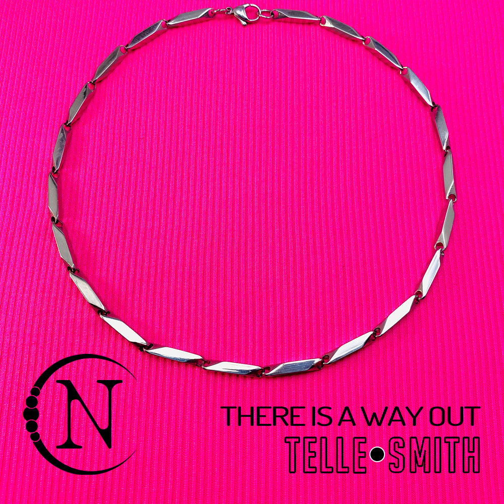 There Is A Way Out NTIO Necklace by Telle Smith
