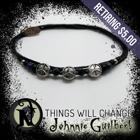 Things Will Change NTIO Bracelet by Johnnie Guilbert