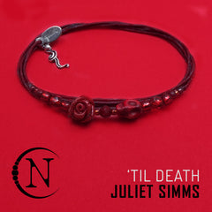Red Until Death Halloween 2019 Bracelet by Juliet Simms ~ Limited 25