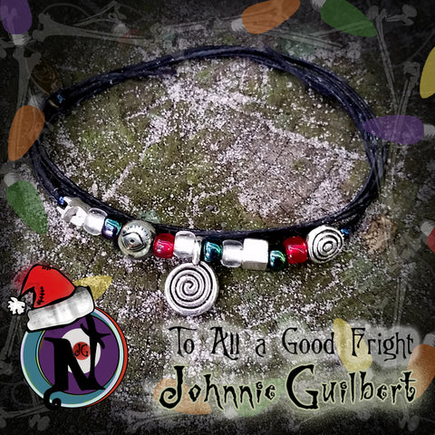 To All A Good Fright NTIO Twisted Christmas Bracelet by Johnnie Guilbert