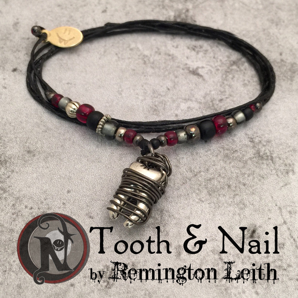 Tooth and Nail NTIO Bracelet by Remington Leith