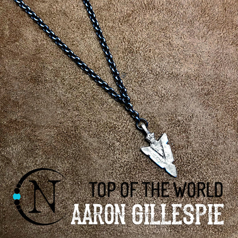 Necklace Top of the World NTIO by Aaron Gillespie