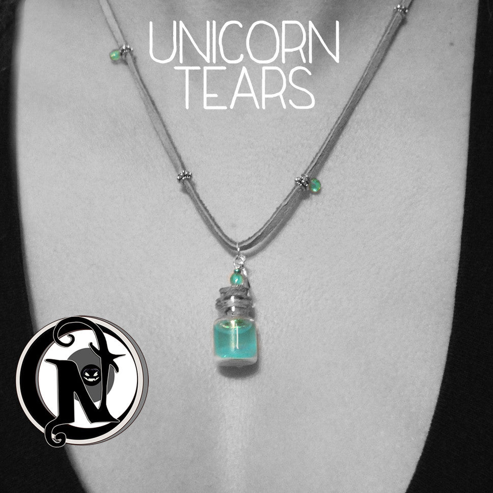 Unicorn Tears NTIO Vial Necklace